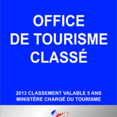 OFFICE DE TOURISME CLASSE : CATEGORIE 1